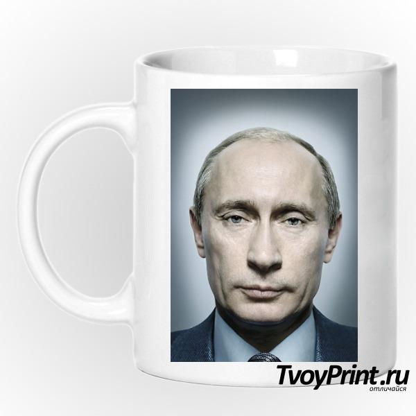 Кружка с Путиным портрет
