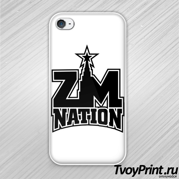 Чехол iPhone 4S ZM nation