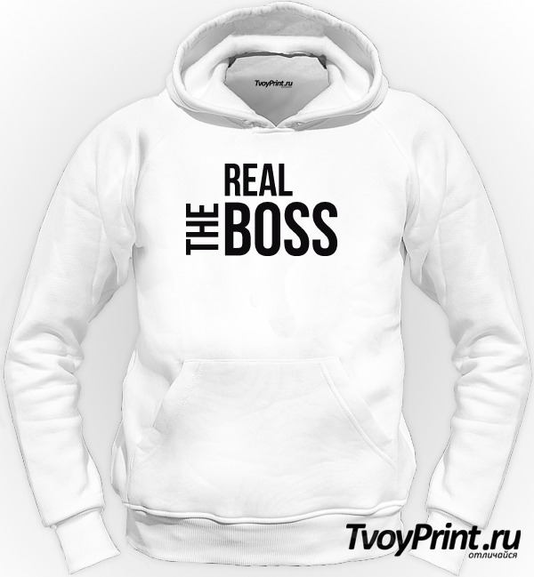 Толстовка The real boss