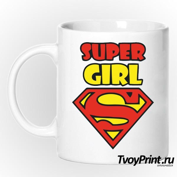 Кружка Super girl
