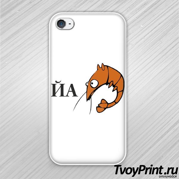 Чехол iPhone 4S ЙА-креведко