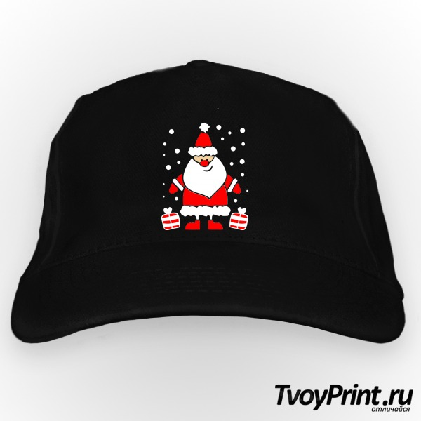 Бейсболка Дед Мороз улыбается