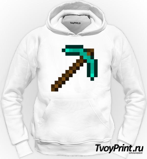Толстовка Minecraft Кирка