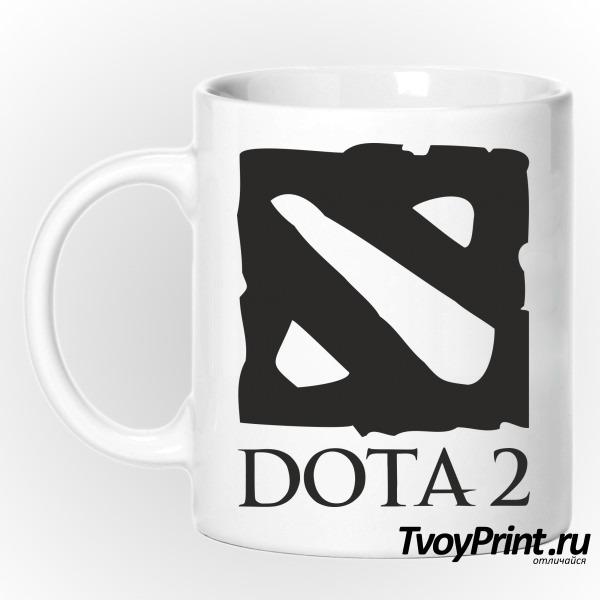 Кружка Dota 2  лого