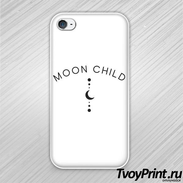 Чехол iPhone 4S Дитя луны