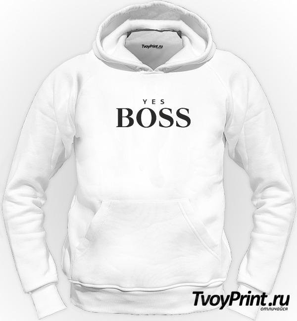 Толстовка yes boss
