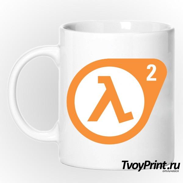 Кружка Half Life 2 logo