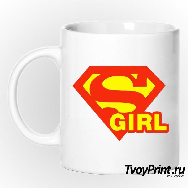 Кружка SuperGirl