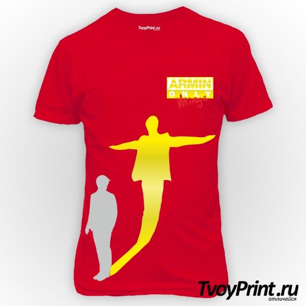 Футболка Armin Van Buuren золото