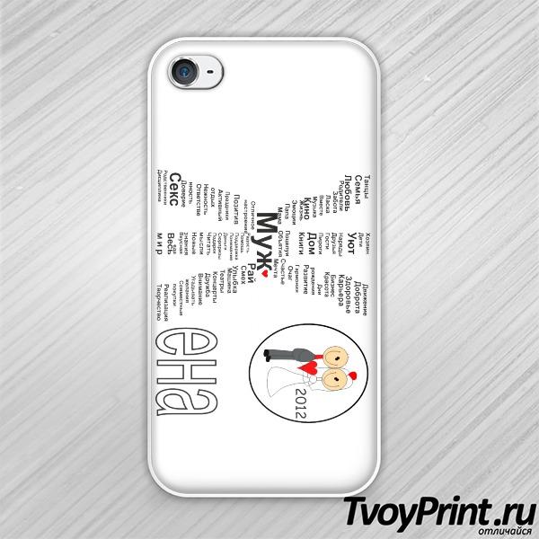 Чехол iPhone 4S Жена