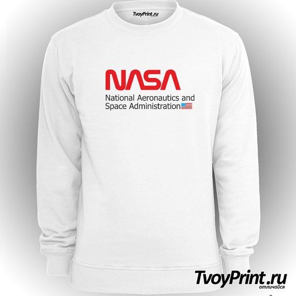 Свитшот NASA С ФЛАГОМ