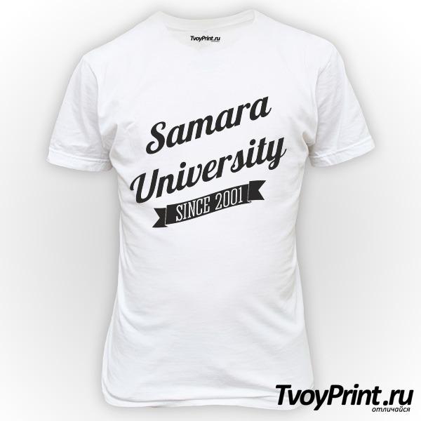 Футболка Университетская СамГУ