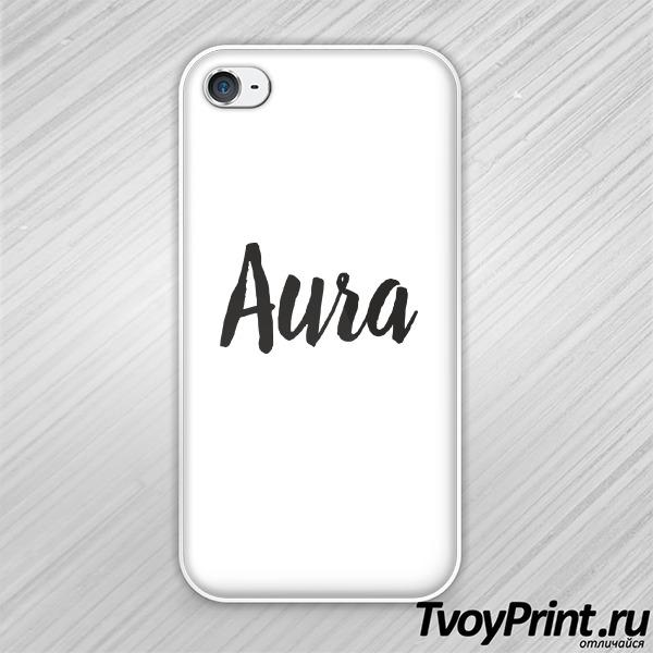 Чехол iPhone 4S aura