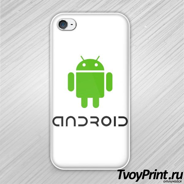 Чехол iPhone 4S Андроид