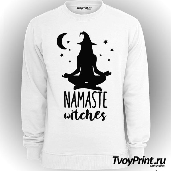 Свитшот Namaste witches