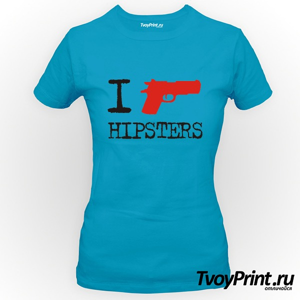 Футболка I Shoot Hipsters