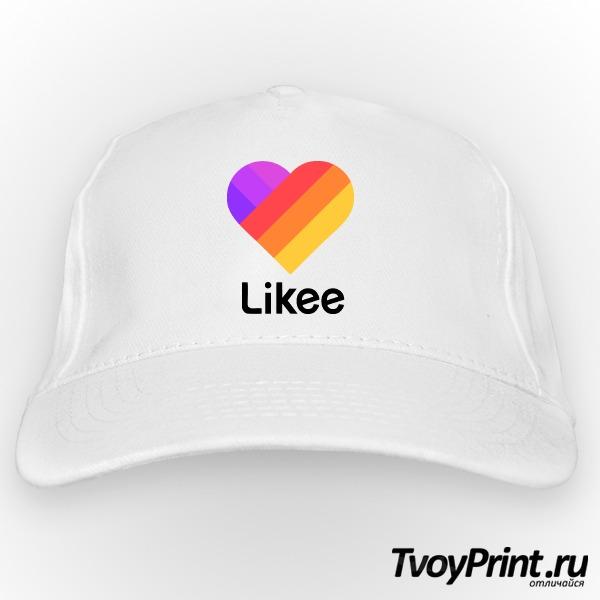 Бейсболка Likee (логотип маленький)