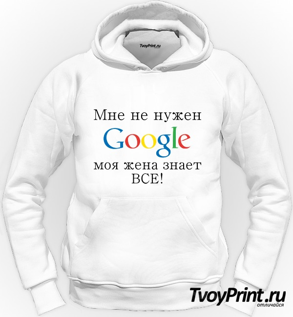 Толстовка Google