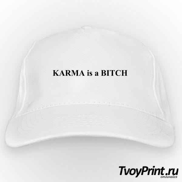 Бейсболка Karma is a bitch