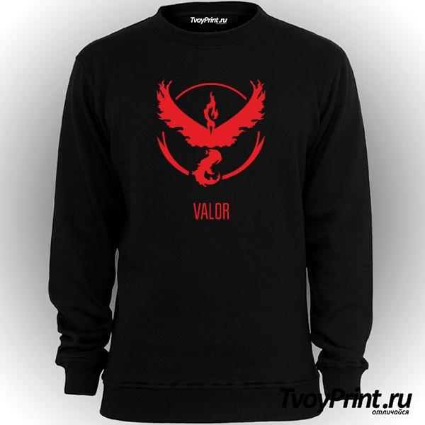 Свитшот Red Team Valor Pokemon Go Красная команда
