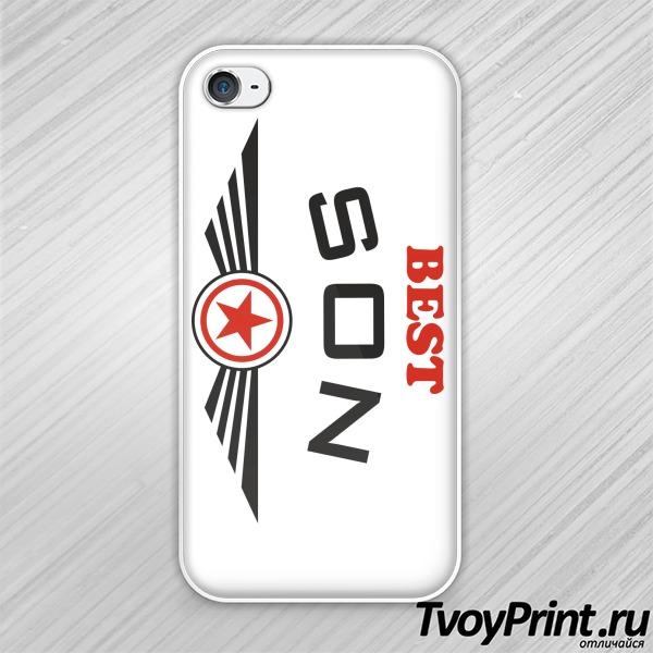 Чехол iPhone 4S Best son