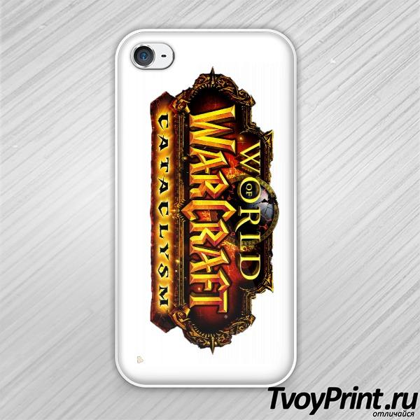 Чехол iPhone 4S World Of WarCraft