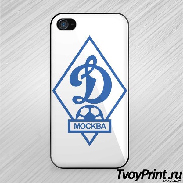Чехол iPhone 4S Динамо
