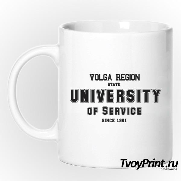 Кружка Университетская ПВГУС