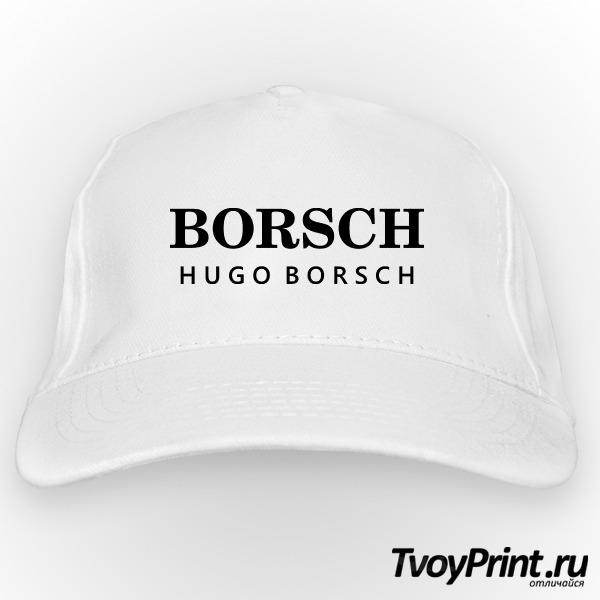 Бейсболка Hugo borsch