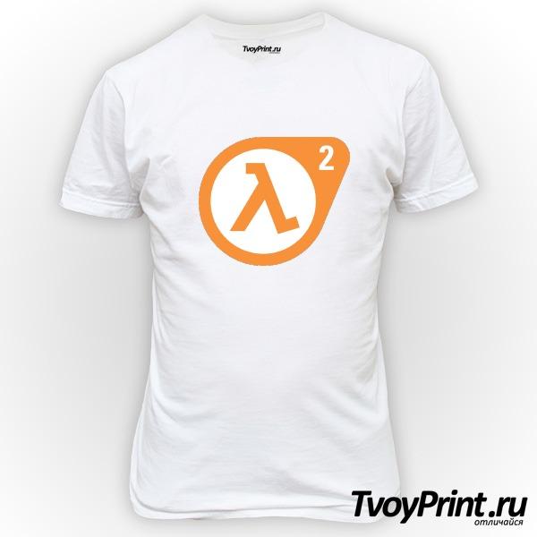 Футболка Half Life 2 logo