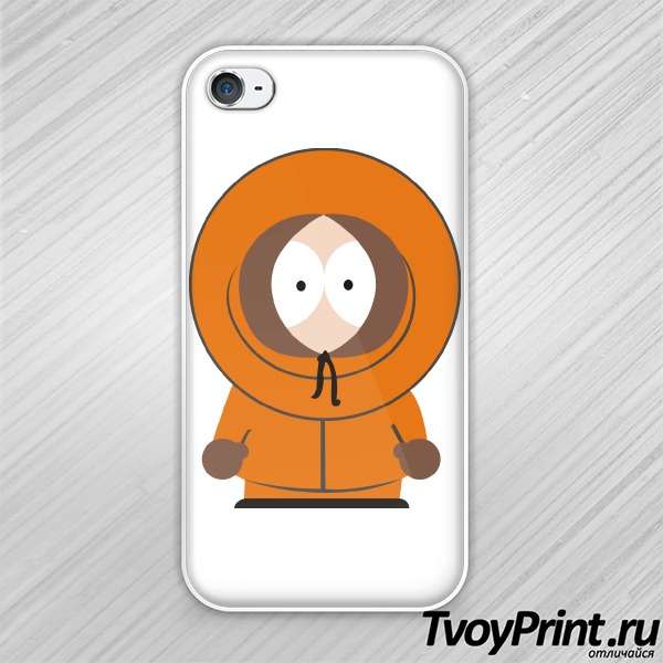 Чехол iPhone 4S South Park Кенни