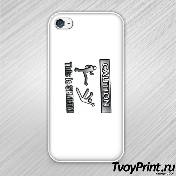 Чехол iPhone 4S This is SPARTA!!!