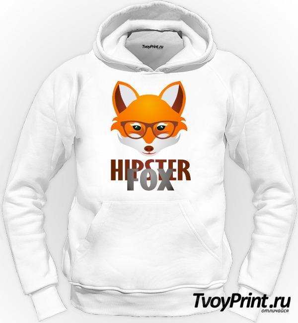 Толстовка Hipster Fox