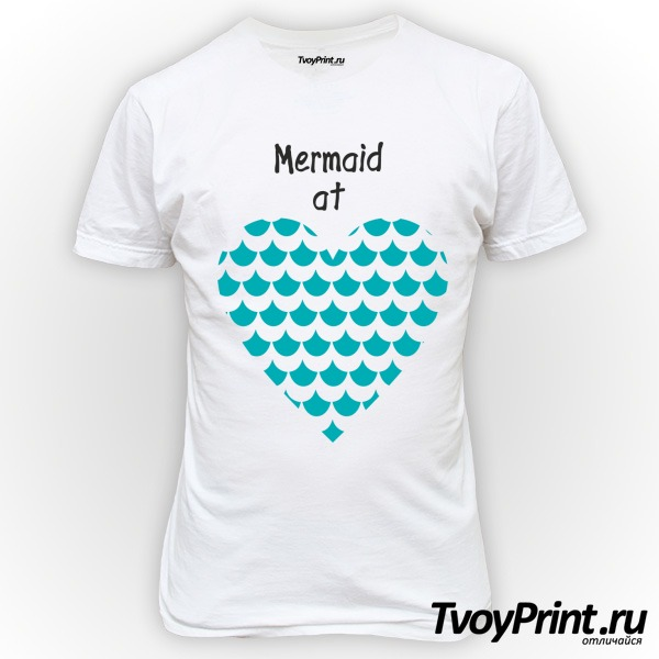 Футболка Mermaid at love
