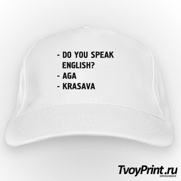 Бейсболка DO YOU SPEAK ENGLISH?