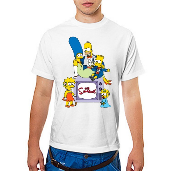 Футболка Simpsons Симпсоны