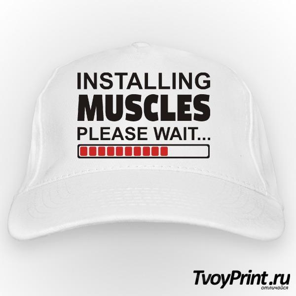 Бейсболка Installing Muscules