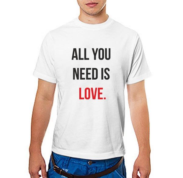 Футболка all you need is love