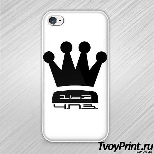 Чехол iPhone 4S 163 Чисто по земле