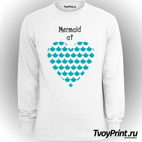 Свитшот Mermaid at love