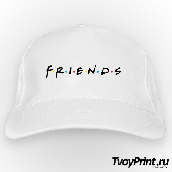 Бейсболка the friends logo