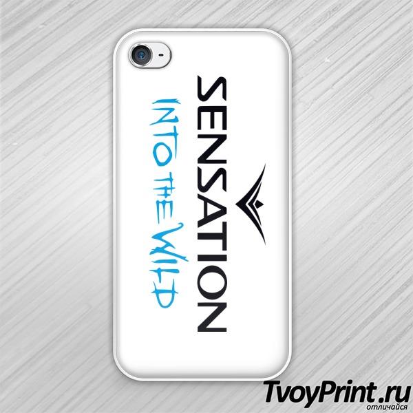 Чехол iPhone 4S Sensation into the wild