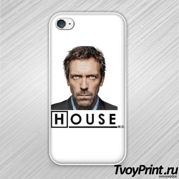 Чехол iPhone 4S Доктор Хаус (Dr House)