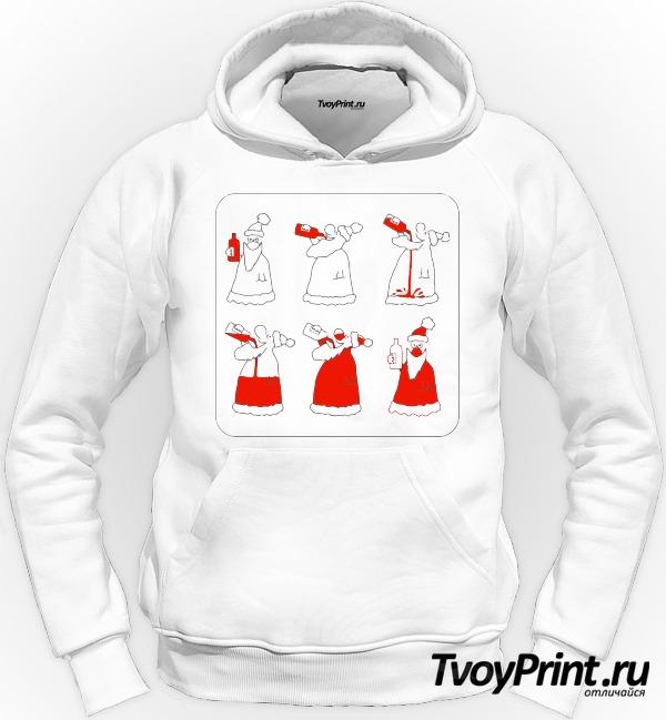Толстовка Как стать Дедом Морозом