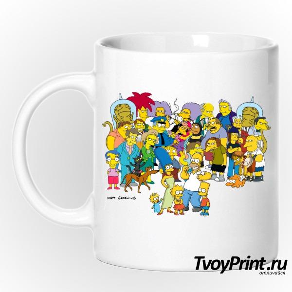 Кружка Simpsons 2 Симпсоны