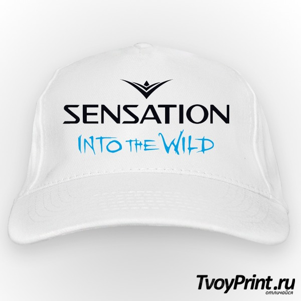 Бейсболка Sensation into the wild