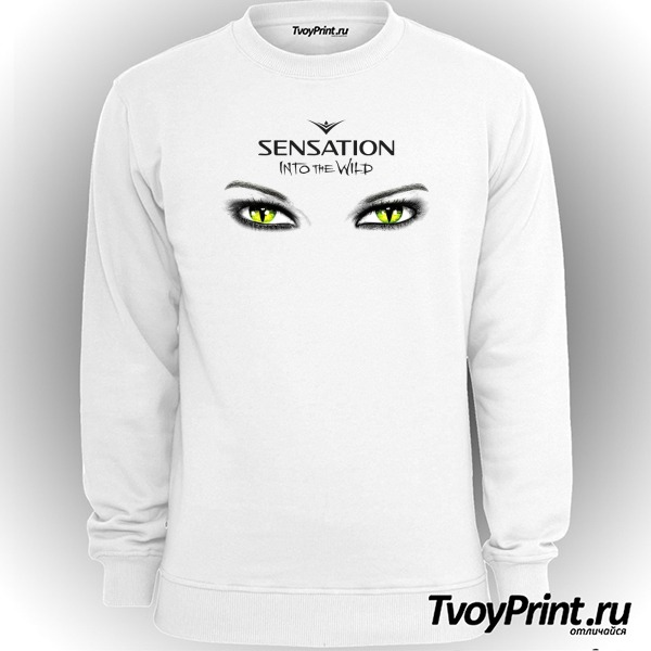 Свитшот Sensation into the wild большой