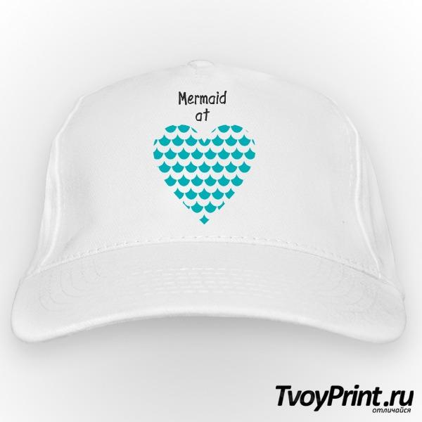 Бейсболка Mermaid at love