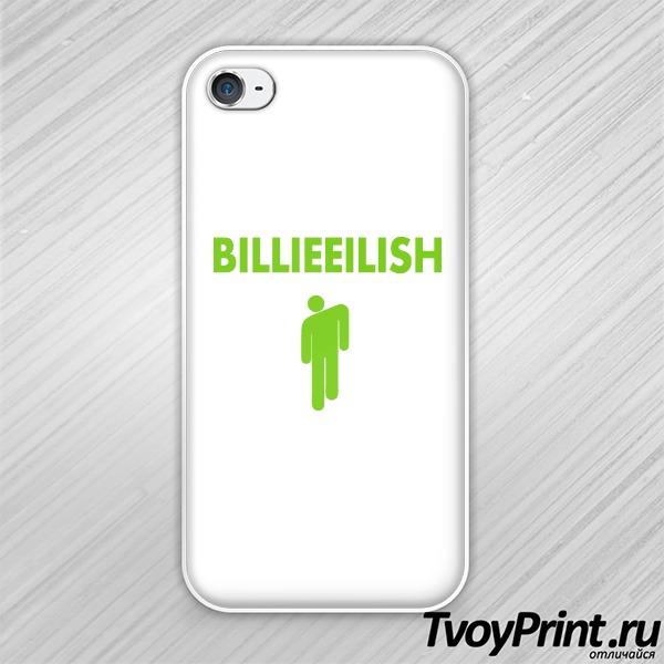 Чехол iPhone 4S Billie Eilish logo