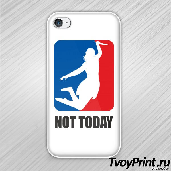 Чехол iPhone 4S no today (nba)